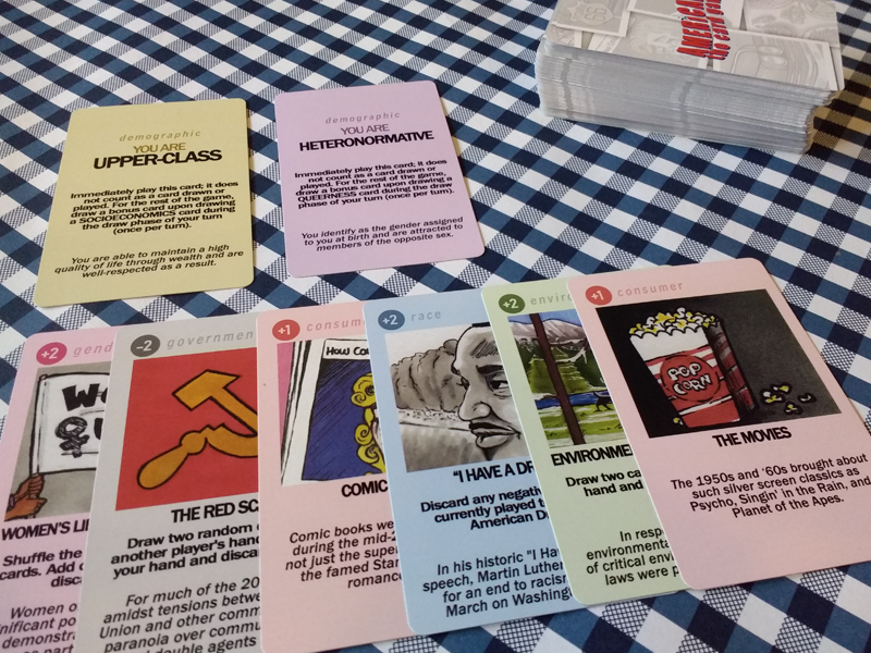 Americana The Card Game is Savage & That's The Point 10 Sugar Gamers