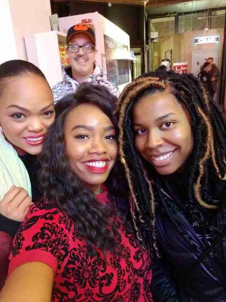 Original members of the Sugar Gamers, Jennifer Tonge, Keisha Howard, and Jessica Tolliver. These three have been part of core team developing concept and world for Project Violacea since its inception, over four years ago.