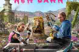 Cover from the newest chapter of Far Cry - Far Cry: New Dawn.