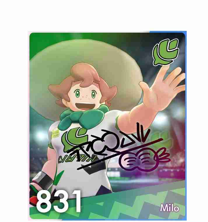 Pokemon Sword and Shield Gym Leader #1 : Milo