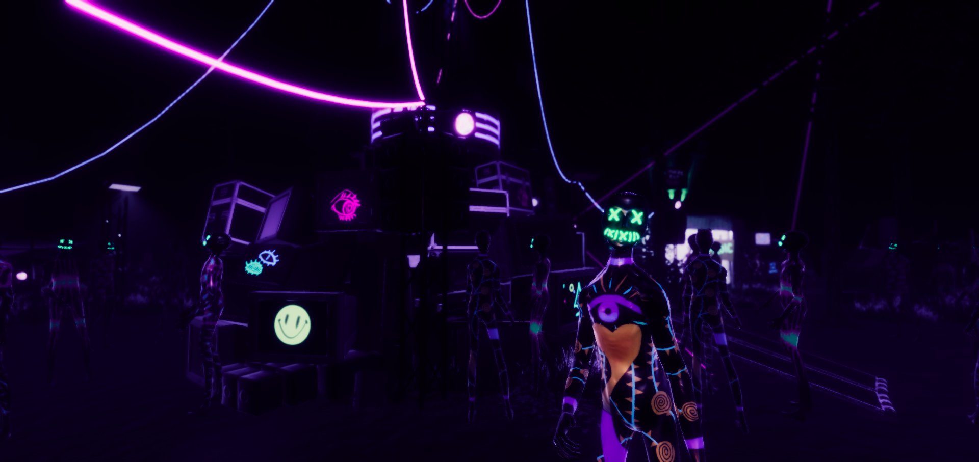 Halloween might be over, but we still wanna explore this creepy party 16 Sugar Gamers