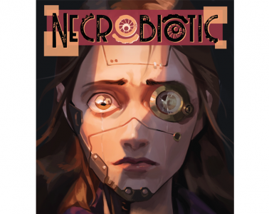 Cover for Necrobiotic - a new tabletop RPG out on Kickstarter now (May 12)